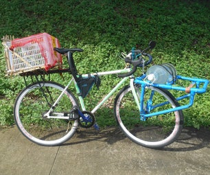 A Simple DIY Bicycle Parking Brake