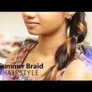 DIY: Summer Braid Hairstyle!