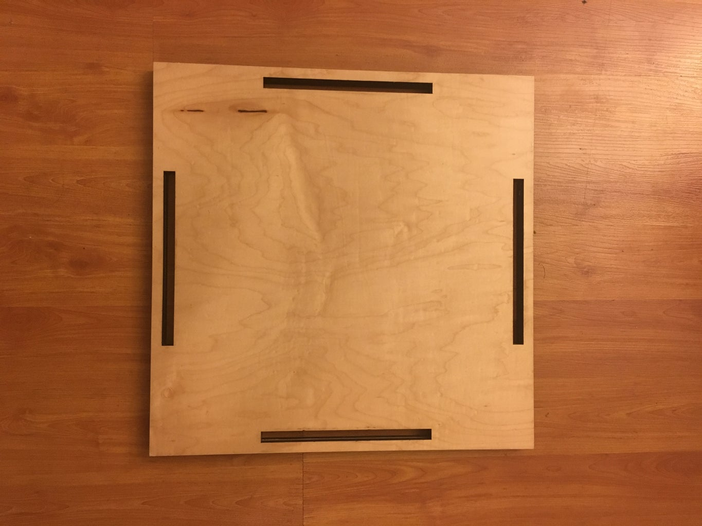 Gluing the Top + Bottom Pieces