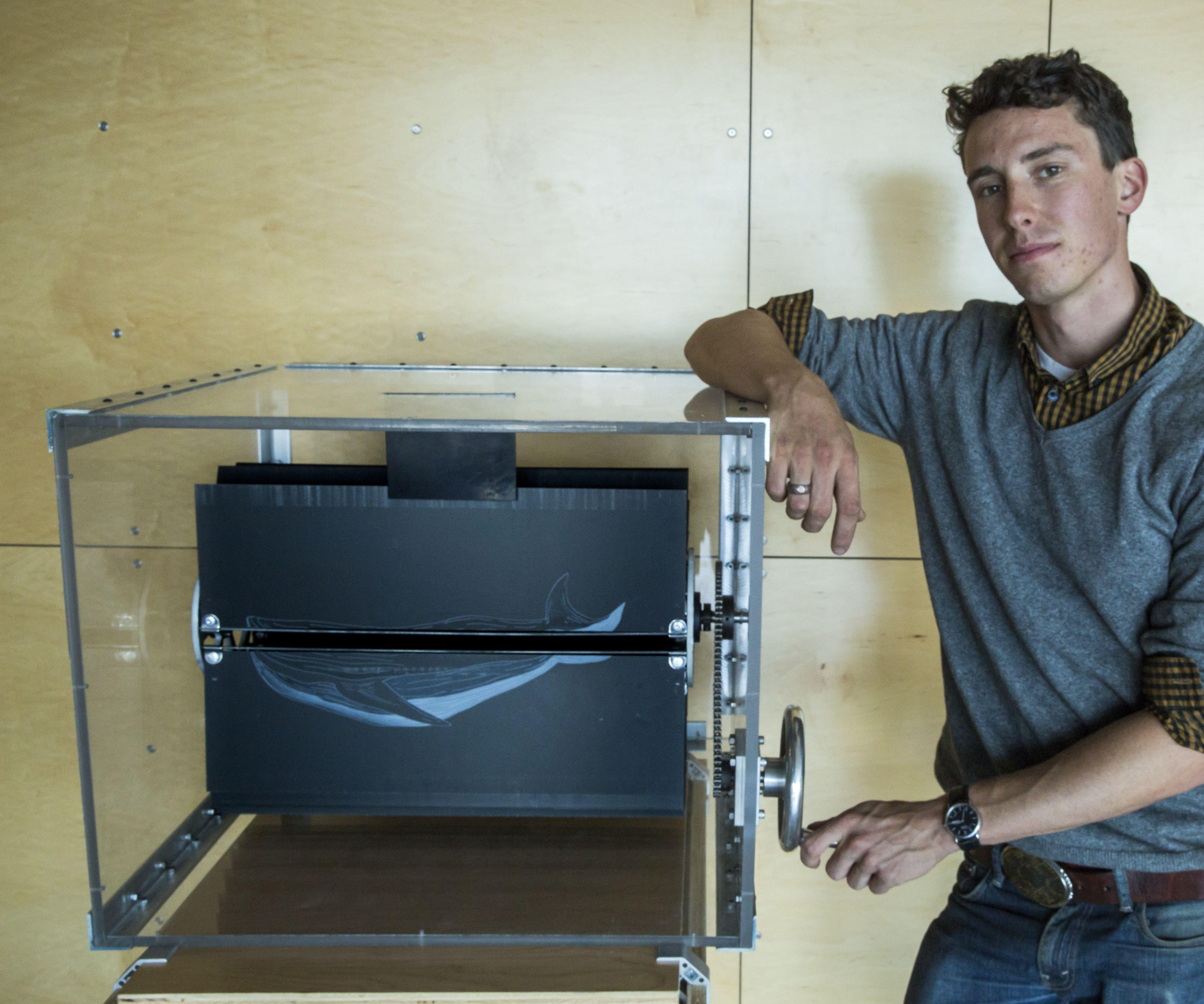 The World's Largest Mechanical Flipbook