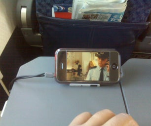 Cheap and Quick Portable IPhone / PMP Stand