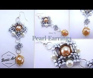 Pearl Earrings | Beading Tutorial