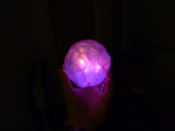 LED Bubble Balls