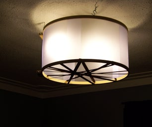 Barrel (Drum) Lamp Shade