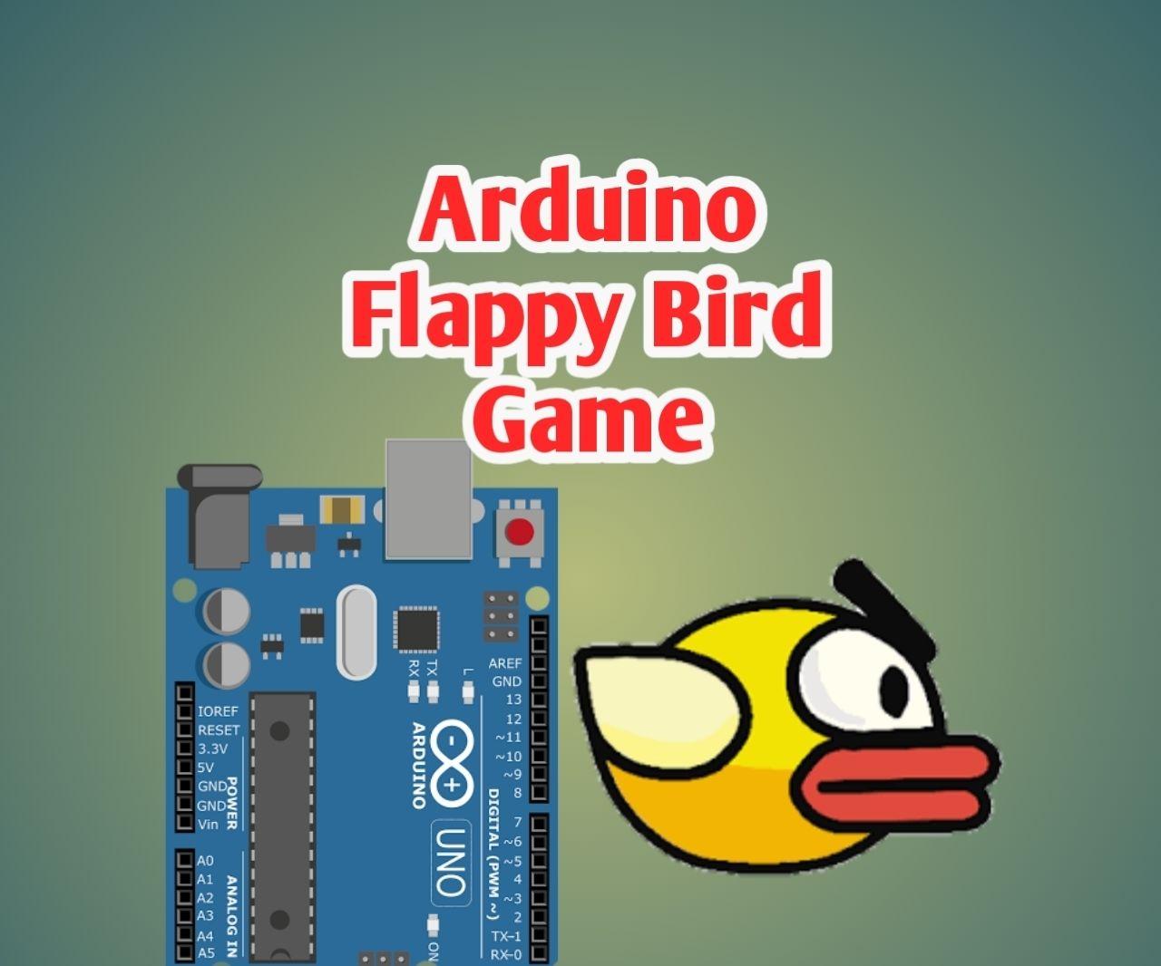 Arduino Flappy Bird Game With 2.4