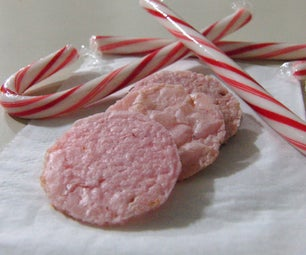 Peppermint Chewy Cookie Thins