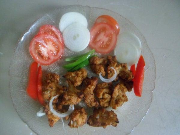 Tandoori Gobi(Baked Cauliflower)