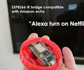 Alexa Compatible IR Bridge Using an ESP8266