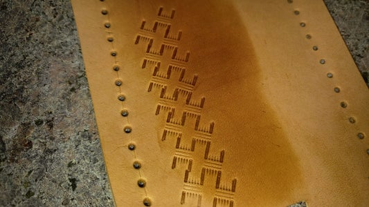 (Optional) Tooling/stamping a Pattern