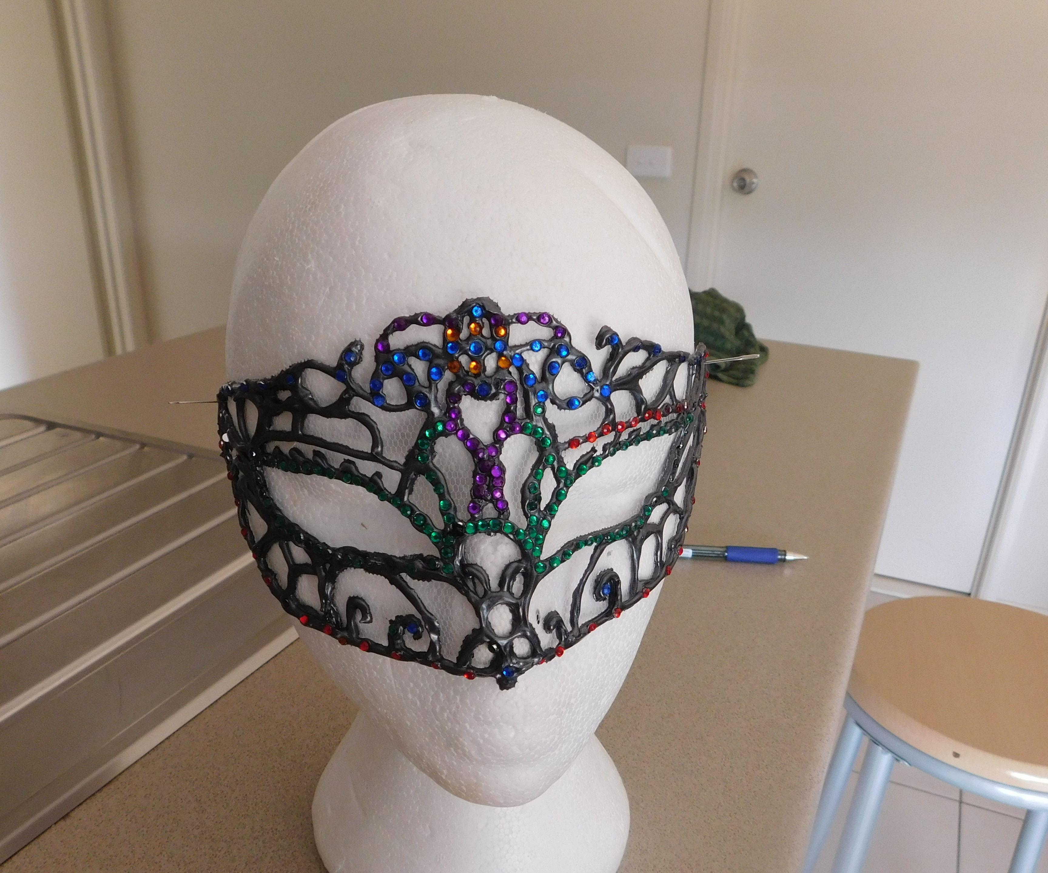 3 D Paint Mask