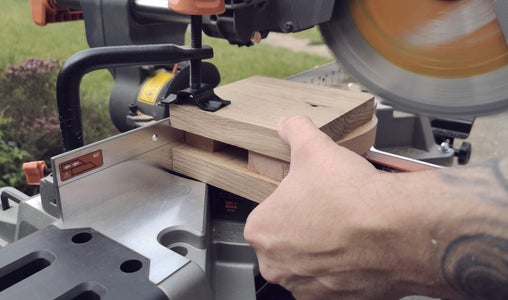 Gluing Up the Head of the Mallet and Cutting It to Shape