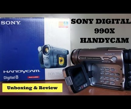 Sony DCR-TRV480 Digital8 Handycam Review & Unboxing | Must Watch|