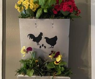 如何制作鸡饲养员播种机 - 垃圾到宝藏