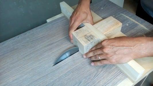Preparing Wood Blocks