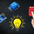 Touch Light Using TTP223 Touch Sensor & Arduino Nano