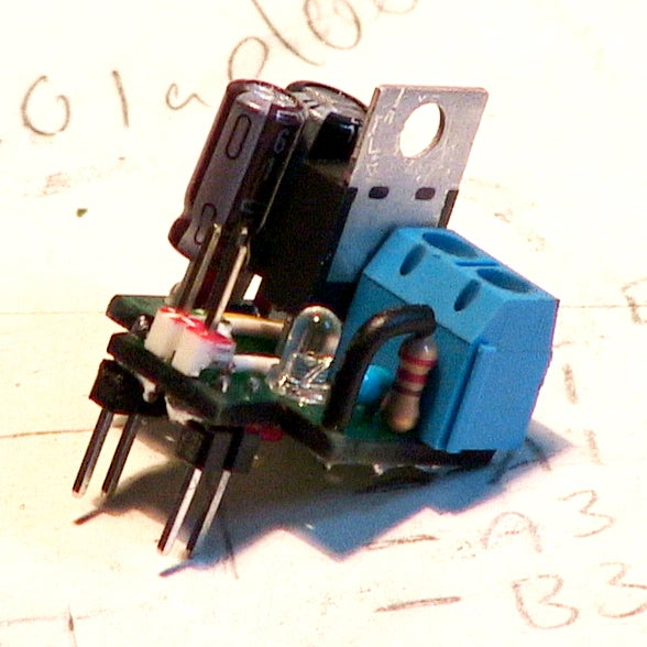Tiny Breadboard 5v PSU (with Two Output Modes)