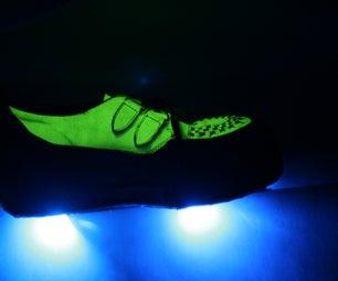Glow in the Dark & Bottom-Lit Platform Shoes