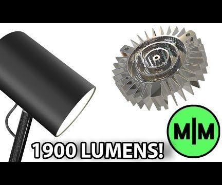 Build the Ultimate High Power LED Desk Lamp!