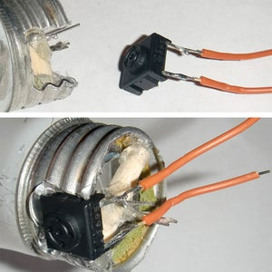 Secure Insides + Wire Button