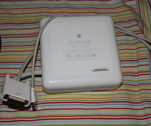 The Apple DVI to ADC Monitor Adapter Model A1006