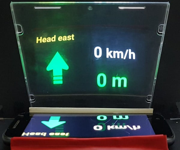 Holographic Car Heads-Up Display (HUD)