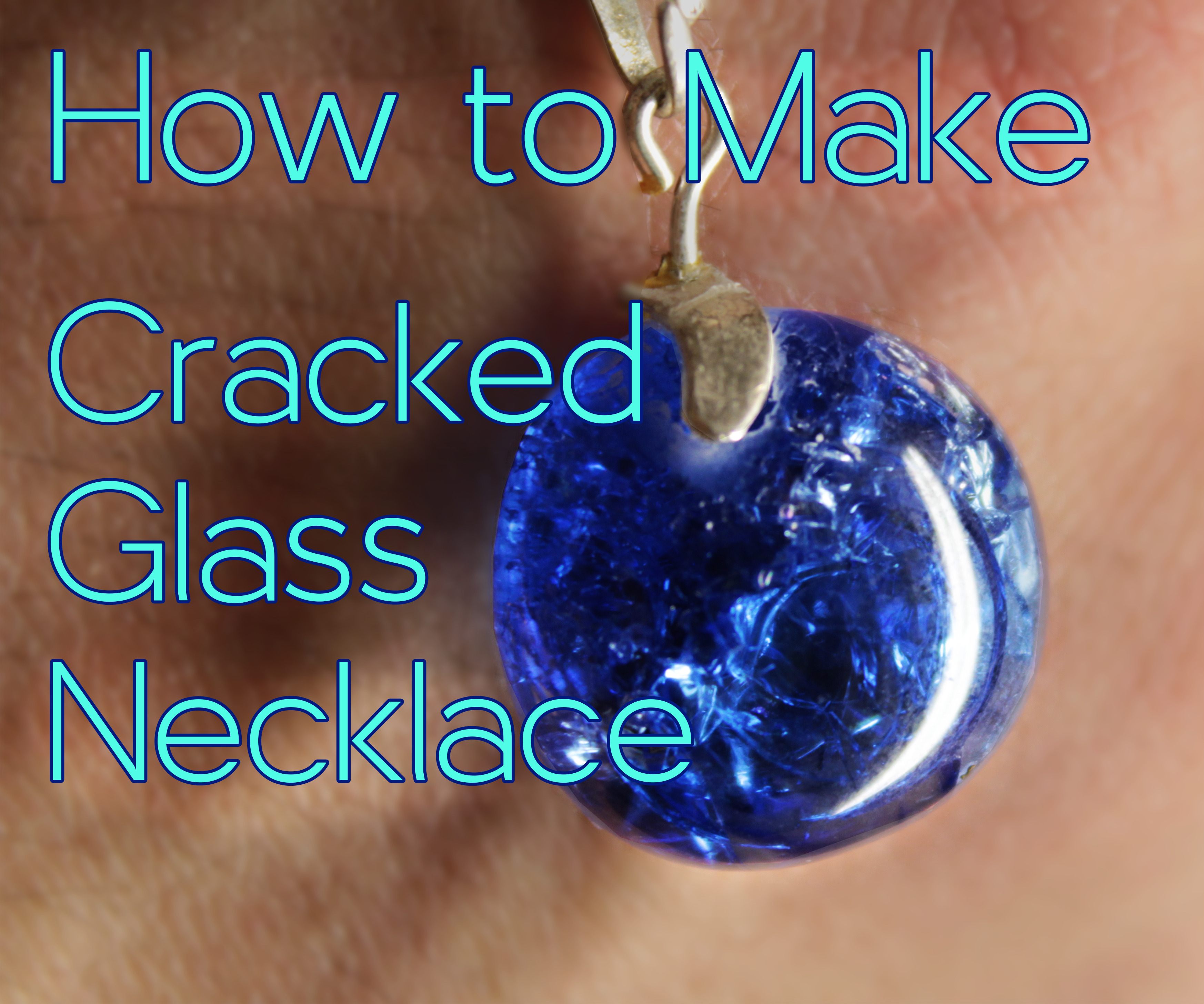How to make Cracked Glass Necklace