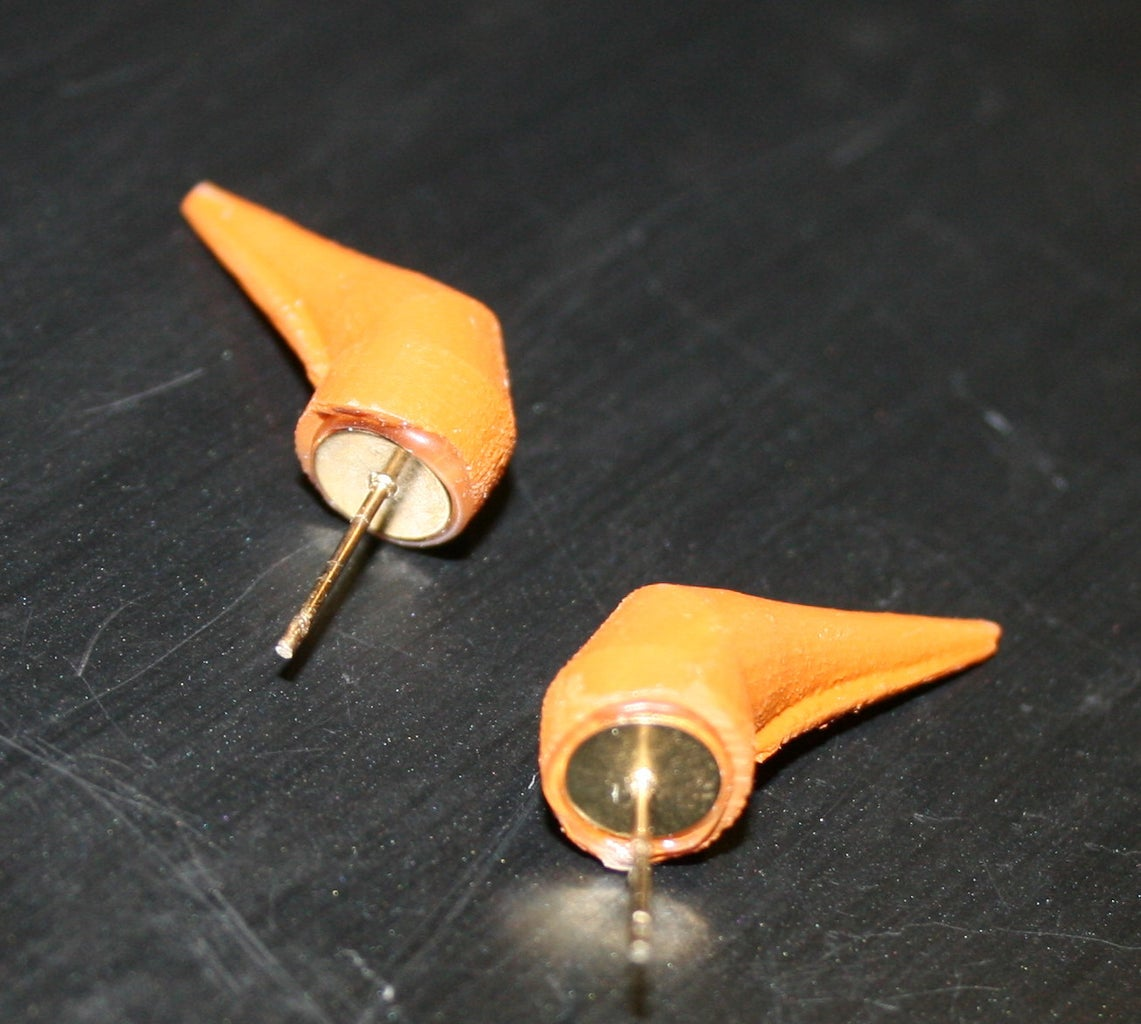 Glue the Earring Posts On