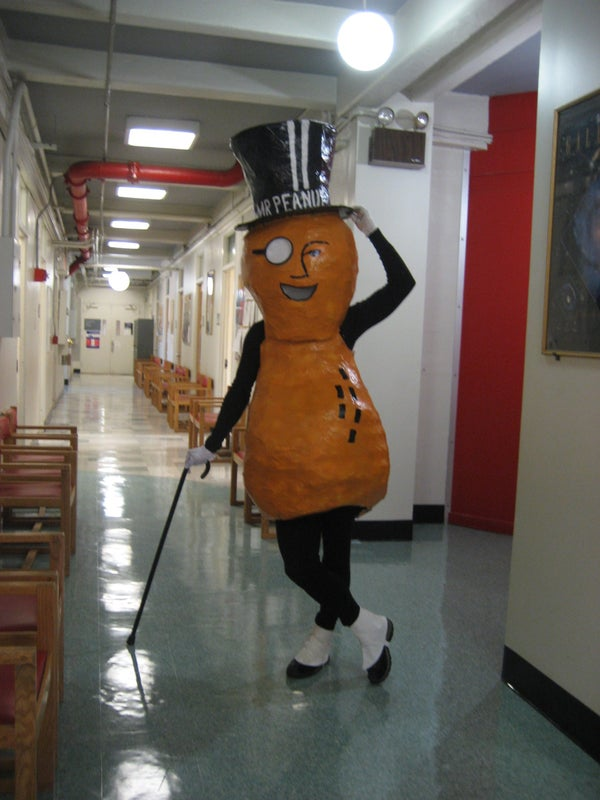 How to Make a Mr. Peanut Costume