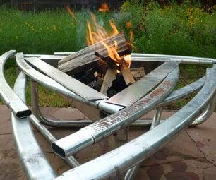 Backyard Campfire = THE BACKFIRE