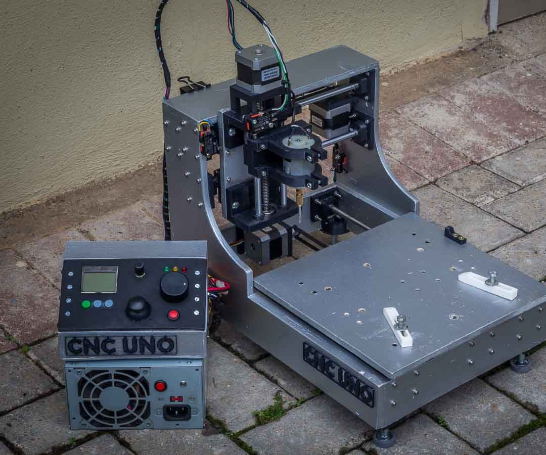 3D Printed Desktop CNC mill