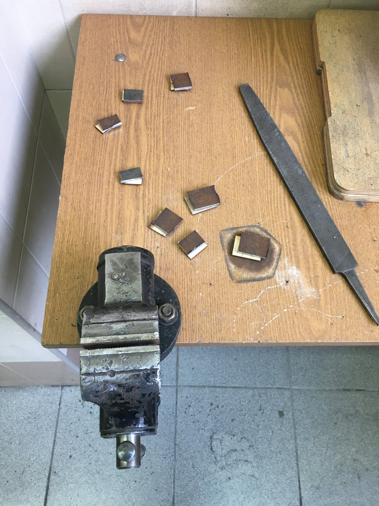 Make the Pedal Mold: Cut the Parts