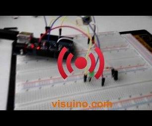 HOW TO USE a VIBRATION SENSOR- VISUINO TUTORIAL WITH ARDUINO