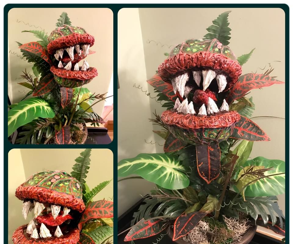 Halloween Monster Plant Prop