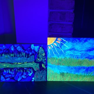 UV (black Light) Painting for Everyone