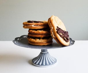 Deluxe Peanut Butter Cookie Sandwiches