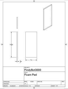 Construction - Foam Pads