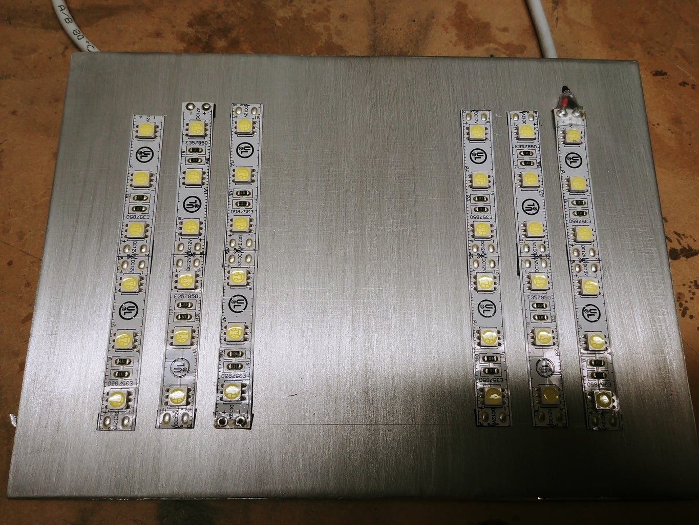 Laying Out the LED's on the Panel
