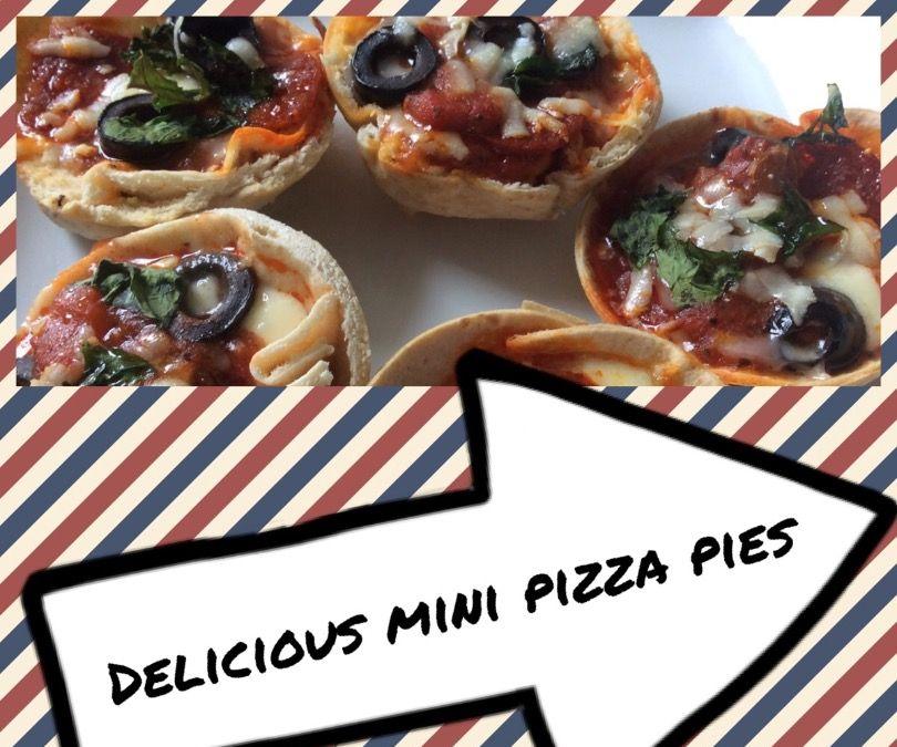 Delicious Mini Pizza Pies