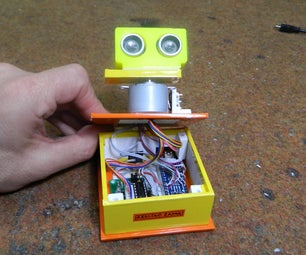 Arduino Ultrasonic Radar (It Can Detect Multiple Objects With Each Ping)