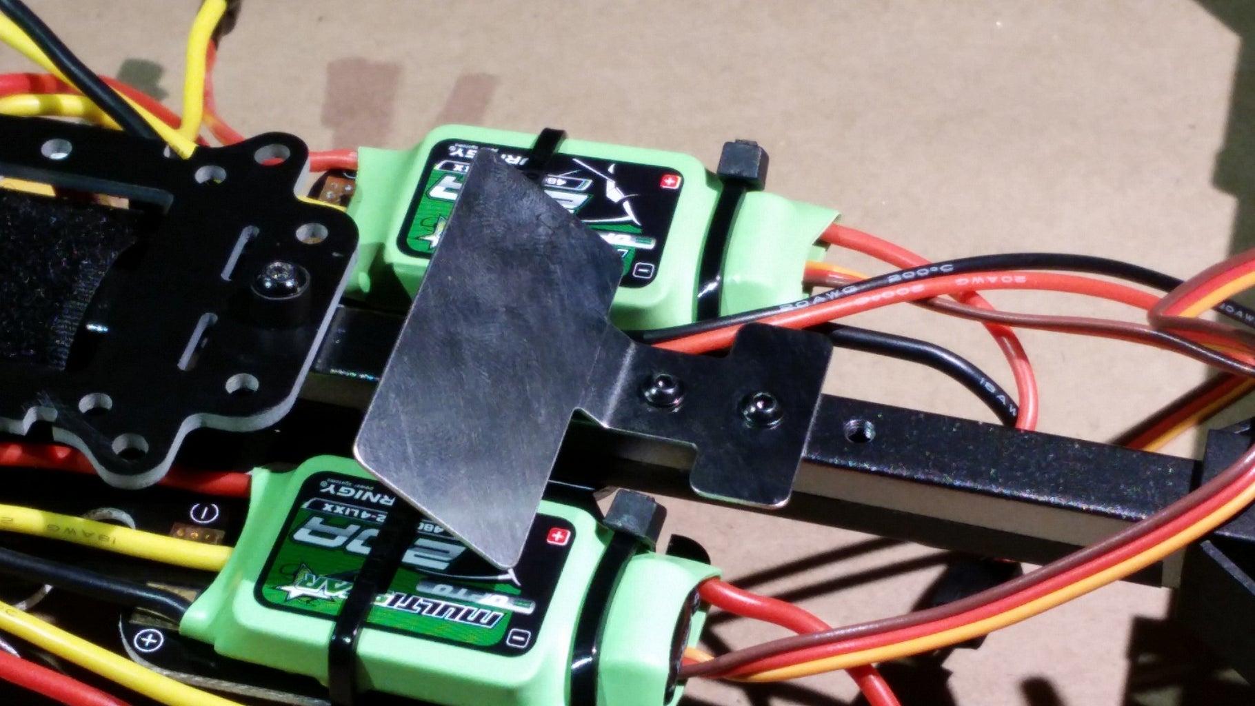 Attach LED Indicator Mount