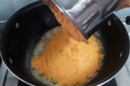 Add the Blended Puree