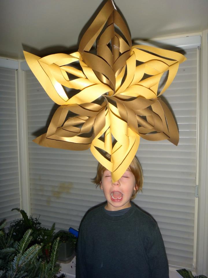 Large Snowflake Craft