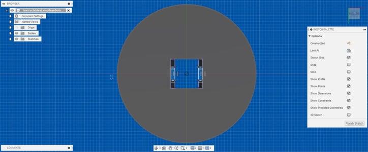 Designing the Base: Adding the Bracket