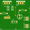 Variable Power Supply Using LM317 (PCB Layout)