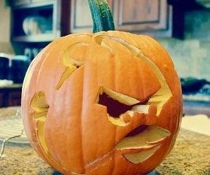 Angry Bird Pumpkin!