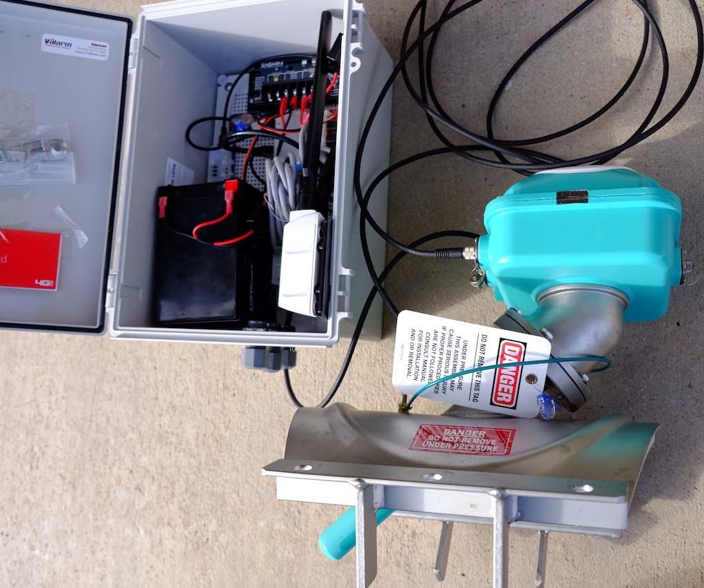 Water Monitoring Systems - Flow Meter IoT Sensors for Water Usage Telemetry  : 4 Steps - Instructables [ 853 x 1022 Pixel ]