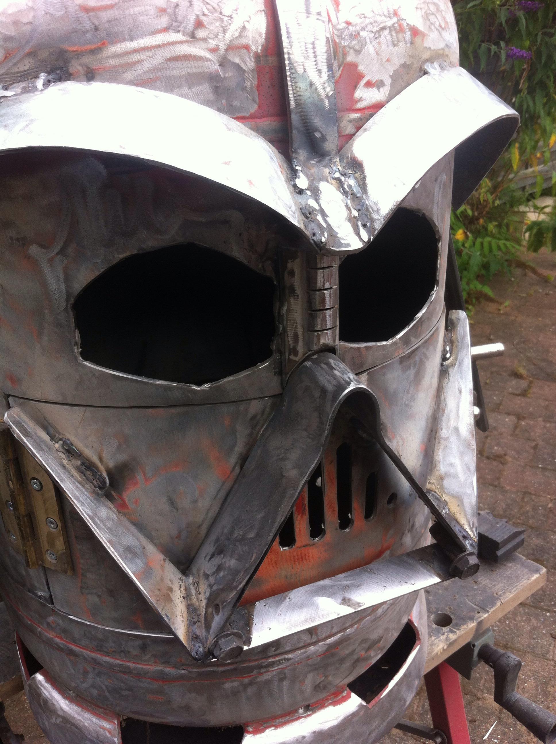 Big Bad Vader Log Burner