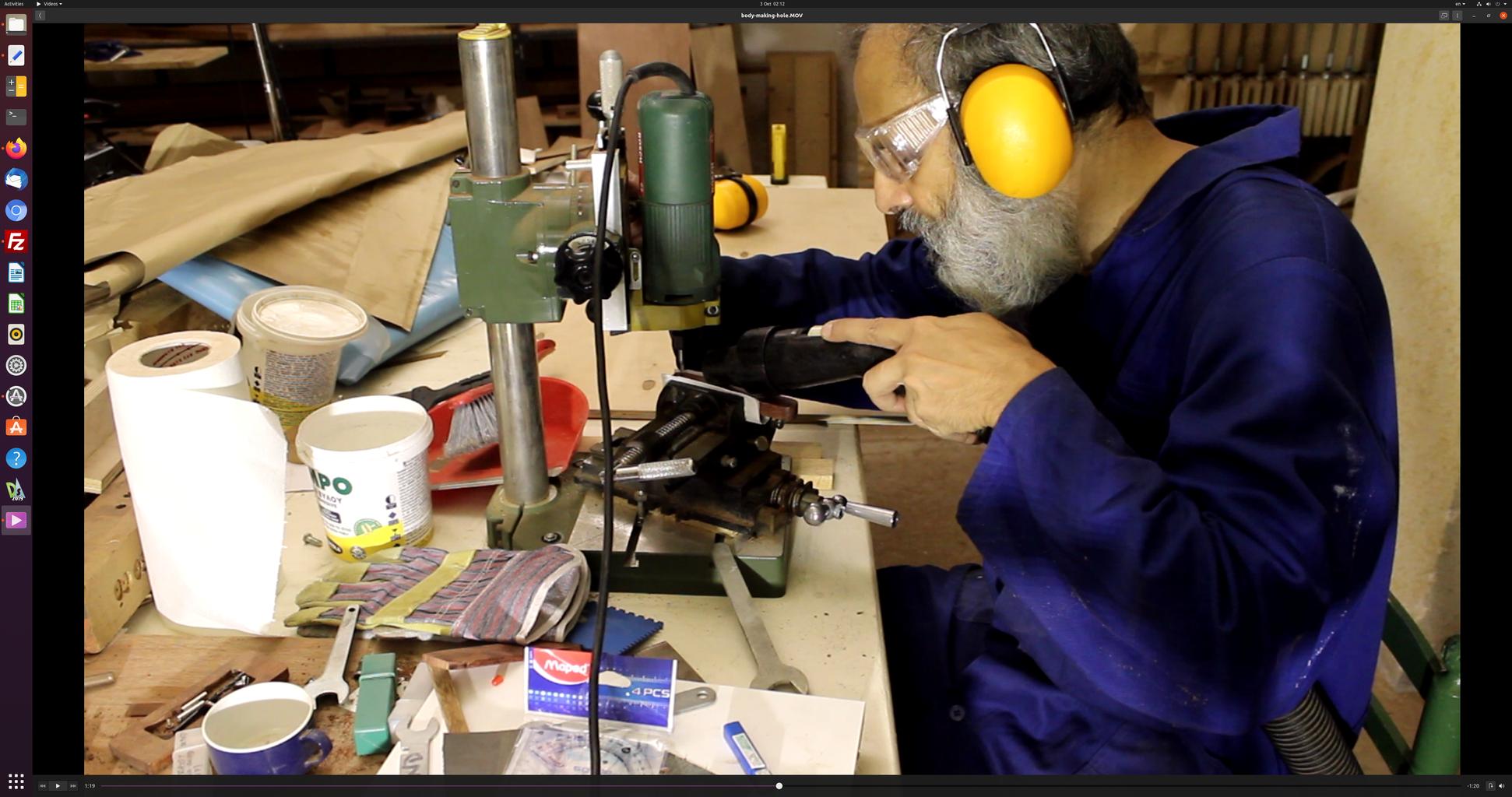 Making the Bevel Body - II (milling Work)