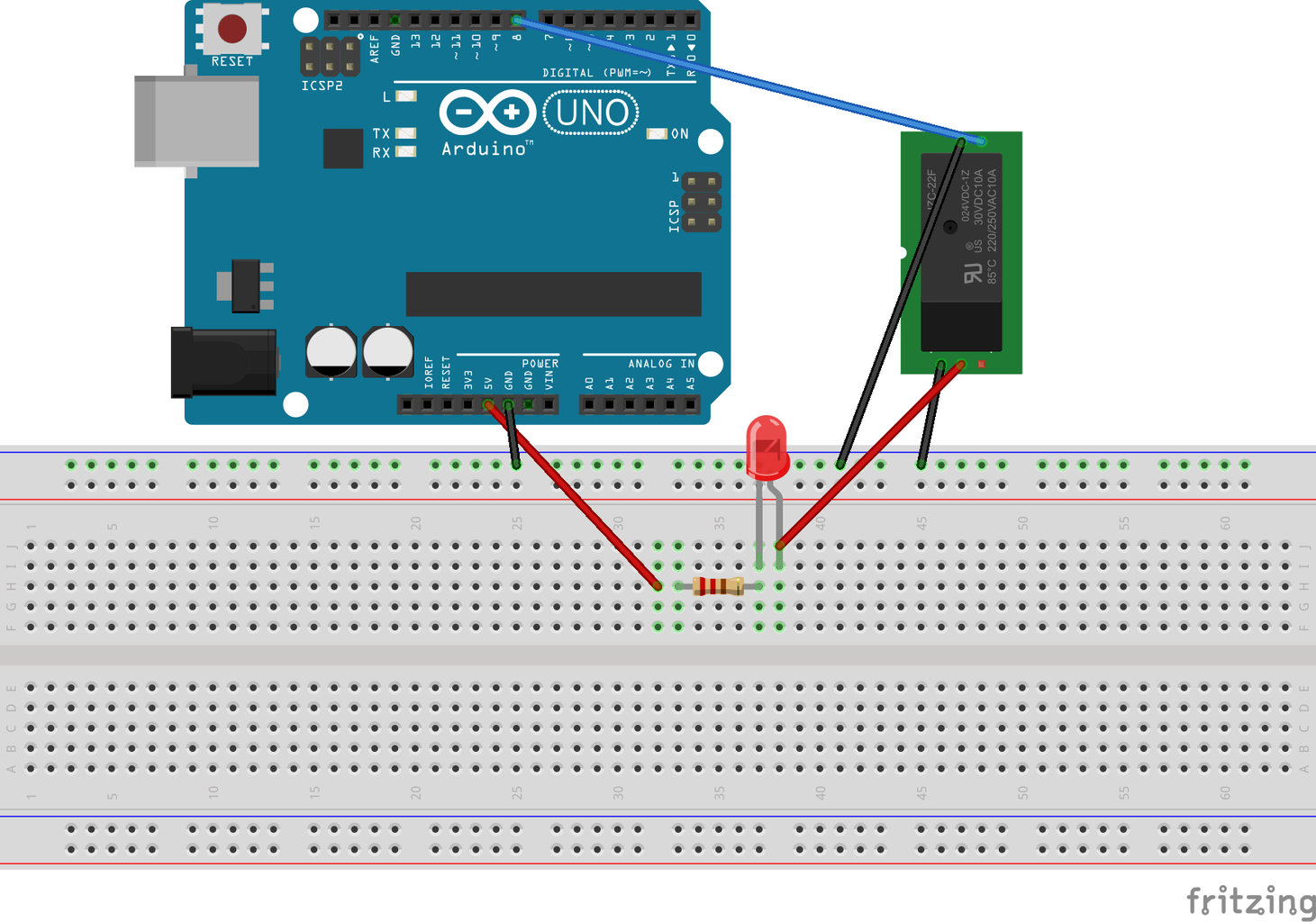 Testing the Relay Circuit