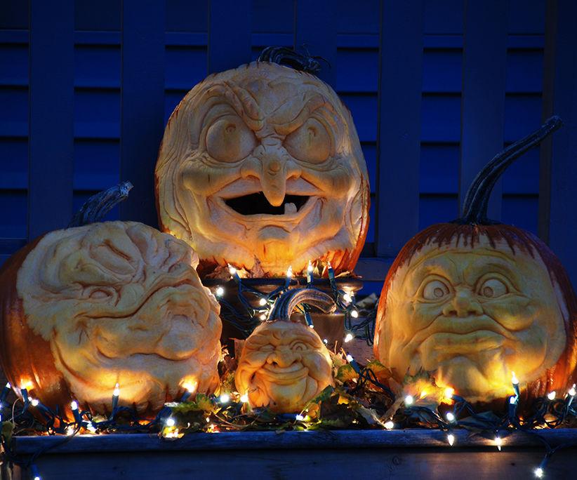 3d pumpkin sculpt - with video